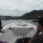 On the boat to Bako National Park