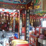 Chinese temple in Kuching