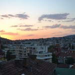 Sarajevo: View from Guesthouse Balcony
