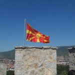Ohrid: Flag on the Fortress