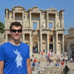 Ephesus: Me in Front of the Library