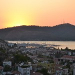 Fethiye: View over the City from Rock Tombs